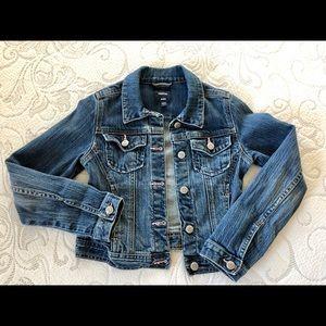 GAP -Girls Jeans Jacket Size M